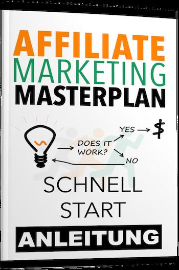 Affiliate Marketing Masterplan Schnellstart Cover